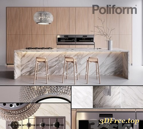 Kitchen Poliform Varenna Trail 2