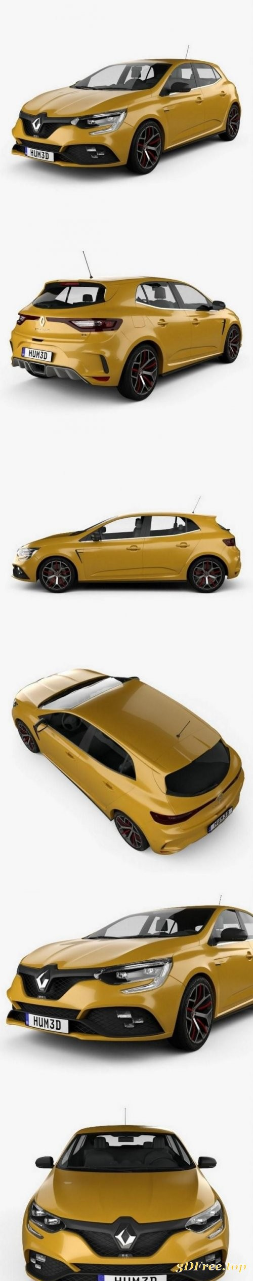 Renault Megane RS Trophy 300 hatchback 2018