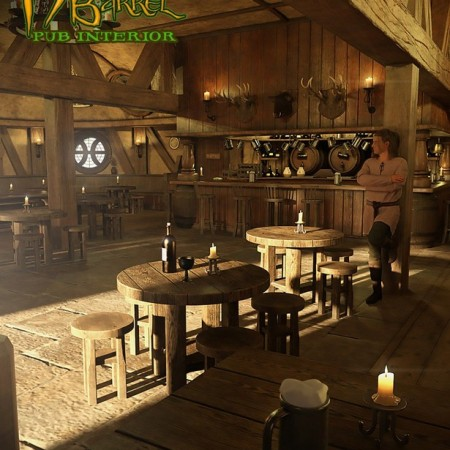 Hog and Barrel Pub Interior