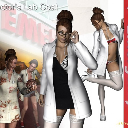 Doctor's Lab Coat