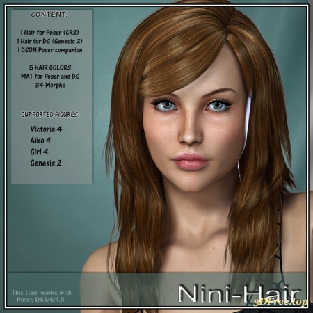 Nini Hair for V4 and G2