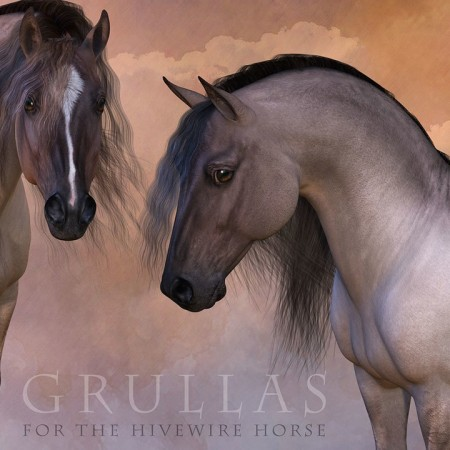 CWRW Grullas for the HiveWire Horse