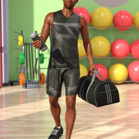 dForce Workout Outfit for Genesis 8 Male(s)