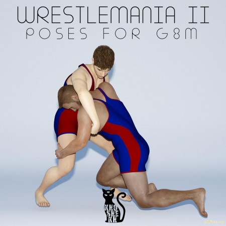 WrestleMania 02 - Poses for G8M