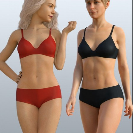H&C Basic Underwear for Genesis 8 Female(s)