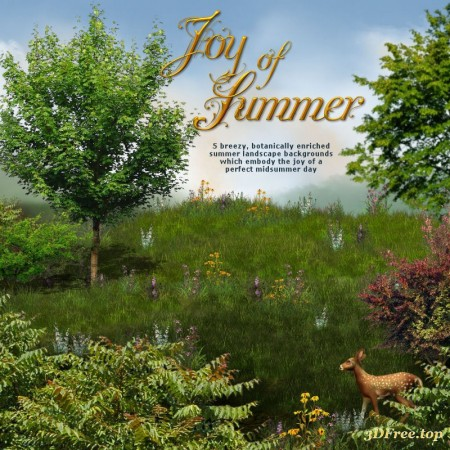 "Jaguarwoman's ""Joy of Summer Landscape Backgrounds"""