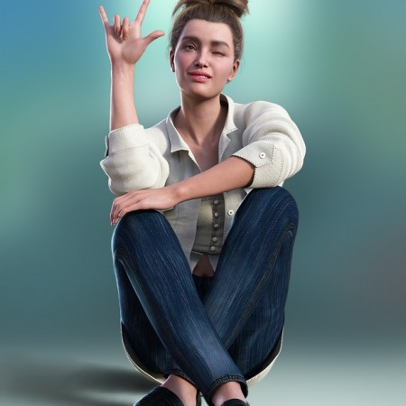 ASL Animations for Genesis 8.1 Female and Victoria 8.1