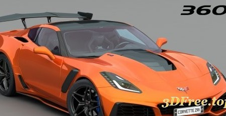 Chevrolet Corvette ZR1 C7 2018 3D model