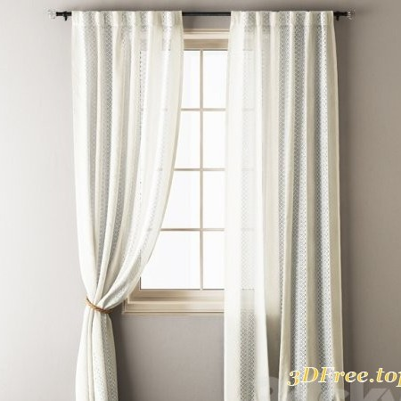 Anthropologie Lace Curtains