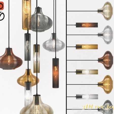 Suspension EMMA Panzeri chandeliers