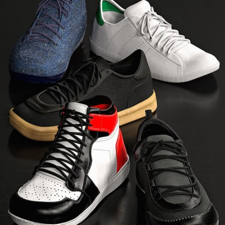 Sneaker Selection for Genesis 8 Male and Michael 8.1