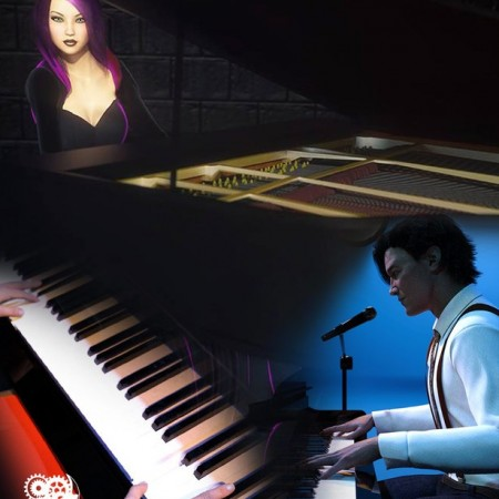 Rockstar Series: Grand Piano - G3 G8 DS