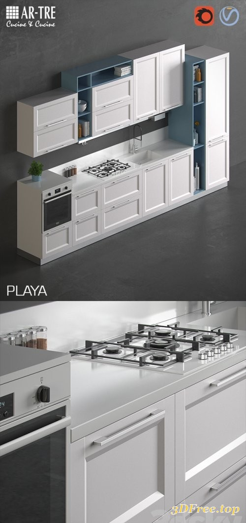 Kitchen PLAYA by AR-TRE