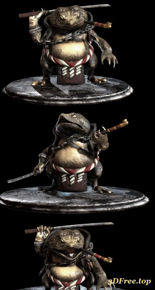 Shinobi Toad