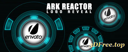 Videohive Ark Reactor Logo Reveal 3113310