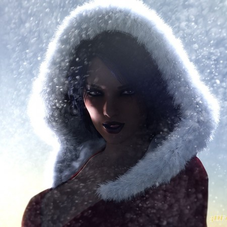 Snow Angel for Genesis 3 Female