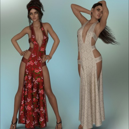 dForce - Chantress Gown for G8F