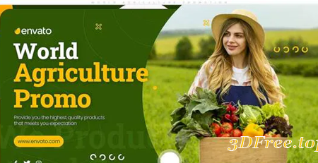 Videohive World Agriculture Promotion 30507707