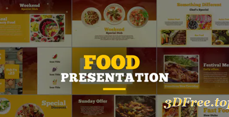 Videohive Food Presentation 23079197