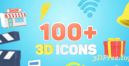 Videohive 3D Icons for Explainer Video 27781406