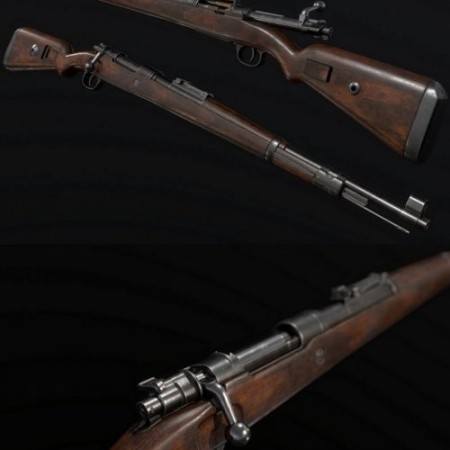 Kar98k German WW2 Rifle