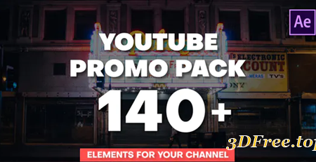 Videohive YouTube Promo Pack 28464988