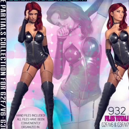 Z Extravaganza - Pose Separates Collection - G2F-V6/G3F-V7