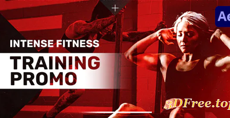 Videohive Intense Fitness Training Promo 30594600