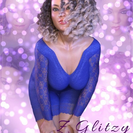 Z Glitzy Diva - Poses and Expressions for Genesis 8 Female and Latonya 8