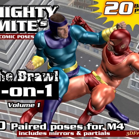The Brawl 1on1 v01  By MightyMite for M4