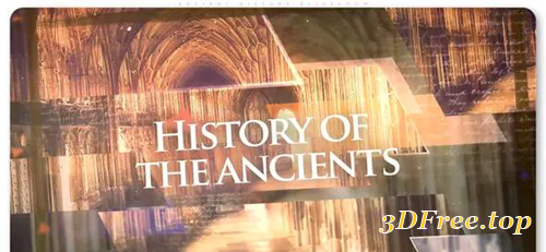 Videohive Ancient History Slideshow 30983814