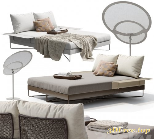 ROBERTI CORAL REEF 9805 Day-bed