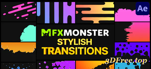 Videohive Stylish Transitions | After Effects 31103524