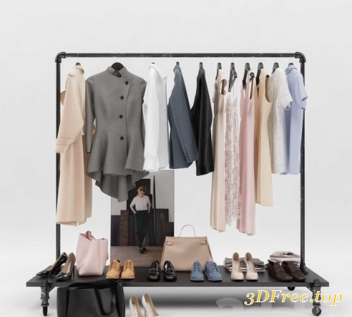 Women's and men's wardrobe