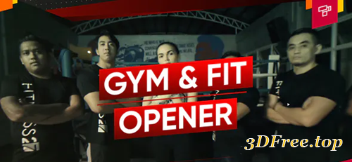 Videohive Fitness and Workout | Gym Opener | Sport Promo | Dynamic Slideshow 24793073