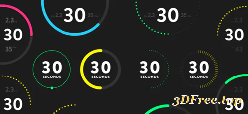 Videohive Countdown Timers for Fitness 31179291