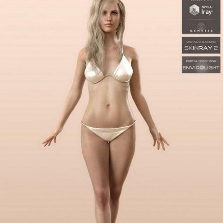 Daz3D – Anatomically Correct Sandy for Genesis 3 and Genesis 8 Female
