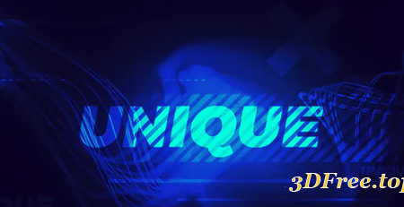 Videohive Particle Words Logo Opener 21624962