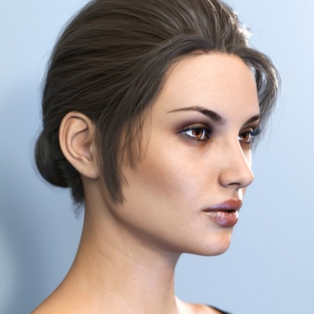 SP Hair 002 for Genesis 3 and 8 Female(s)