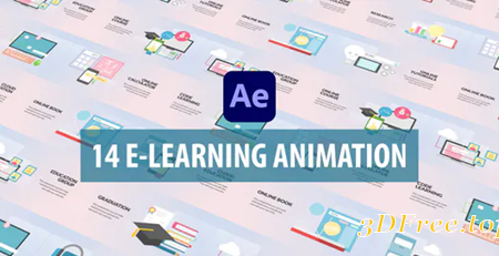 Videohive E-Learning Animation | After Effects 30951753