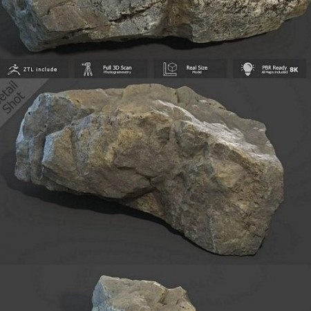 Mountain Rock Scan 3D model