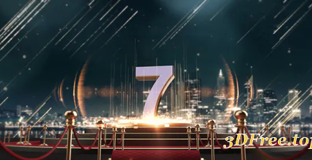 Videohive Red Carpet Countdown 22203218
