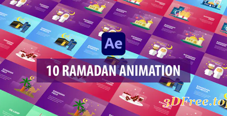 Videohive Ramadan Animation | After Effects 30997341