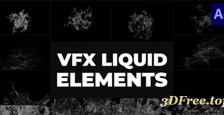 Videohive Liquid VFX | After Effects 30969639