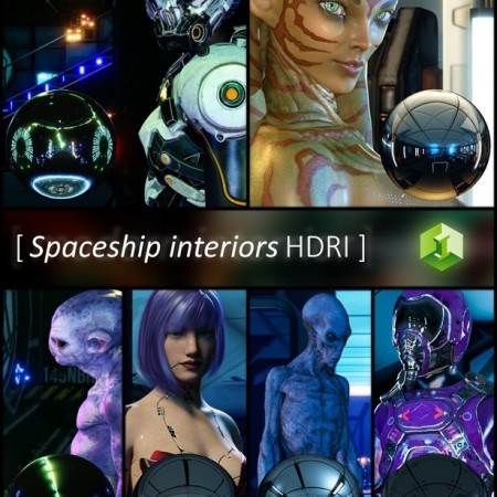Spaceship Interiors HDRI
