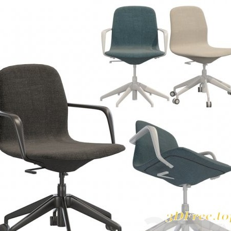 Ikea LANGFJALL office chair (low back)