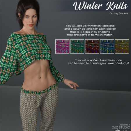 Daz Iray - Winter Knits