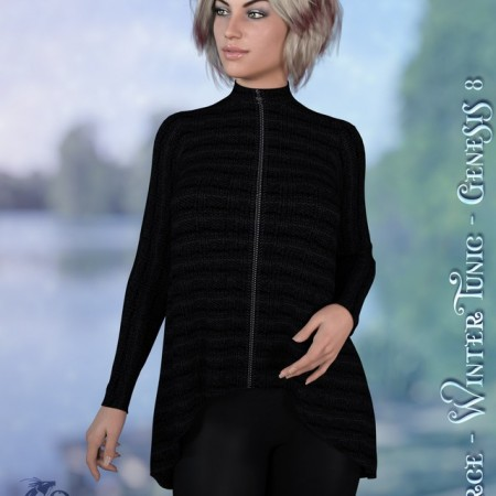dforce - Winter Tunic - Genesis 8