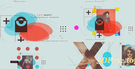 Videohive Abstract Typographic Opener 25059247