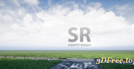 Procedural Road And Highway Tool With Simple Vehicle Traffic